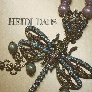 """""""Hues the Loveliest"""" Heidi Daus Dragonfly Necklace"""